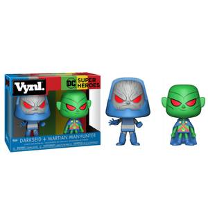 DC Martian Manhunter and Darkseid Funko Vynl.