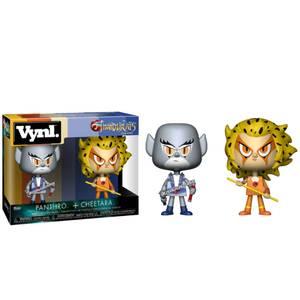 Thundercats Panthro and Cheetara Vynl.