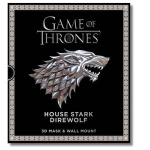 Game of Thrones House Stark Direwolf 3D Mask