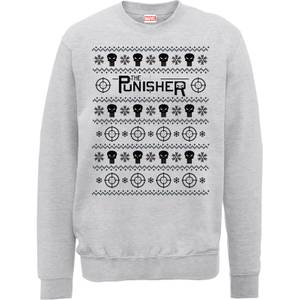 Pull de Noël Homme Marvel The Punisher - Gris