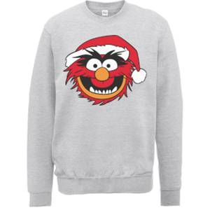 Disney The Muppets Animal Grey Christmas Sweater