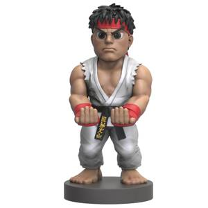 Street Fighter Collectible Ryu 8 Inch Cable Guy Controller & Smartphone Stand