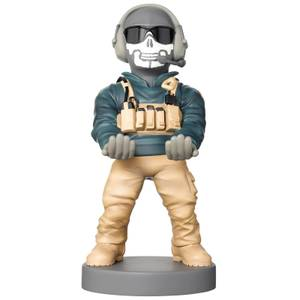 Call of Duty MW2 Collectable Ghost - Simon Riley Cable Guy 8 Inch Controller & Smartphone Stand