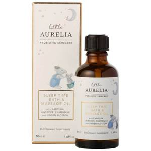 Little Aurelia from Aurelia Probiotic Skincare Sleep Time Bath and Massage Oil olejek do kąpieli i masażu dla dzieci 50 ml
