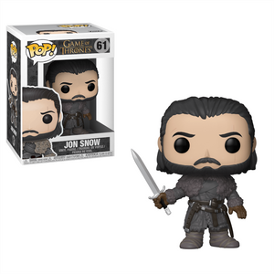 Il Trono di Spade Jon Snow (Beyond the Wall) Figura Pop! Vinyl