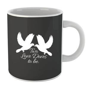 Two Love Doves Mug
