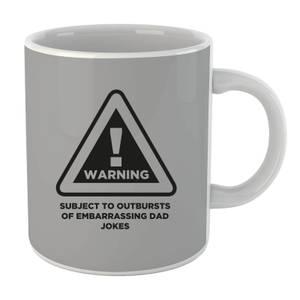 Warning Dad Jokes Mug