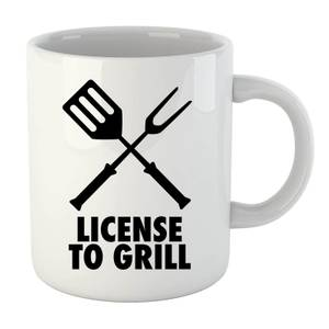 License to Grill Mug