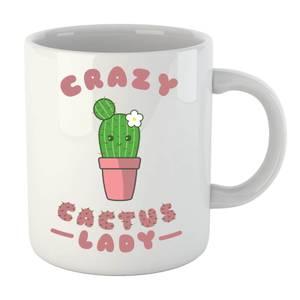 Crazy Cactus Lady Mug