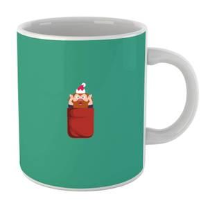 Christmas Elf Pocket Mug