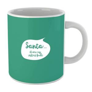 Christmas Sisters Fault Bubble Mug