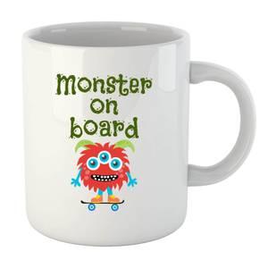 Monster on Board Mug