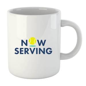 Now Serving Mug