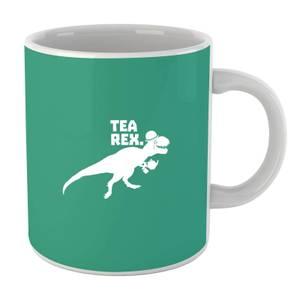 Tea Rex (white) Mug