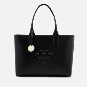 Emporio Armani Women's Frida Logo Eagle Tote Bag - Black
