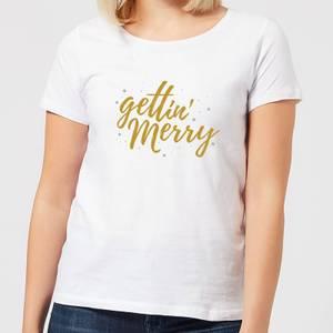 Gettin' Merry Women's T-Shirt - White
