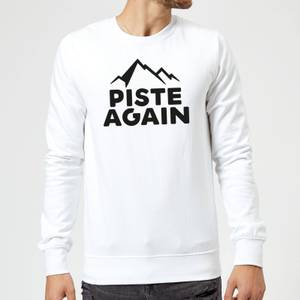 Piste Again Sweatshirt - White