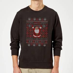 Merry Liftmas Sweatshirt - Black