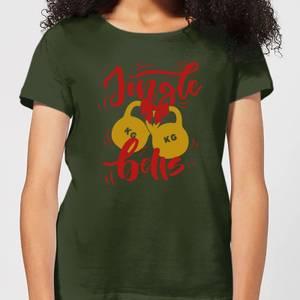 Jingle (Kettle) Bells Women's T-Shirt - Forest Green