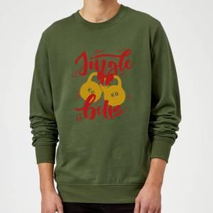Jingle (Kettle) Bells Sweatshirt - Forest Green