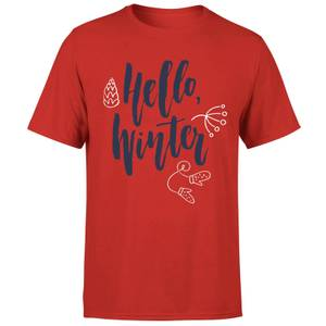 Hello Winter T-Shirt - Red