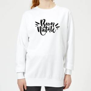 Buon Natale Women's Sweatshirt - White