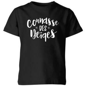 Connasse Des Neiges Kids' T-Shirt - Black