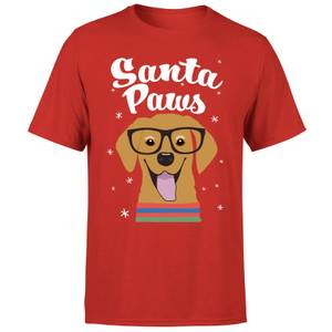 Santa Paws T-Shirt - Red