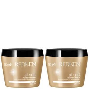 Redken All Soft Heavy Cream Duo (2 x 250ml)