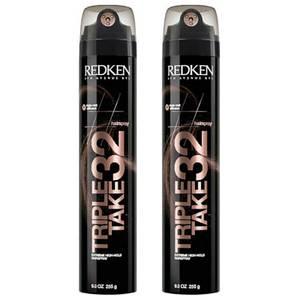 Redken Triple Take 32 Extreme High-Hold Hairspray Duo (2 x 200ml)