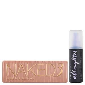 Urban Decay Naked 3 Palette occhi e spray fissante set