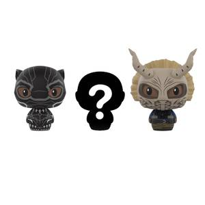 Black Panther 3 Pack Pint Sized Heroes