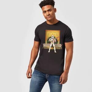 Star Wars Weihnachten Candy Cane Stormtroopers T-Shirt - Schwarz