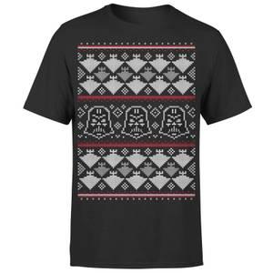 Star Wars Christmas Imperial Darth Vader Black T-Shirt
