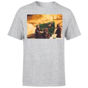 Star Wars Weihnachten Jawa Tree T-Shirt - Grau