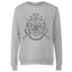 Harry Potter Draco Dormiens Nunquam Titillandus Women's Grey Sweatshirt