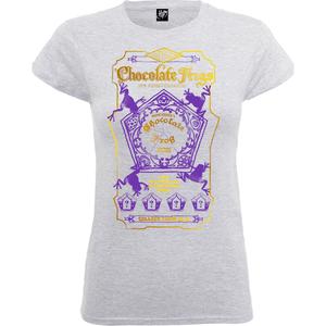 T-Shirt Femme Honeydukes Chocogrenouille - Harry Potter - Gris