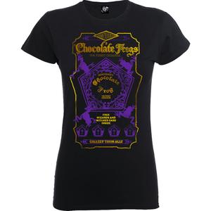 T-Shirt Femme Honeydukes Chocogrenouille - Harry Potter - Noir