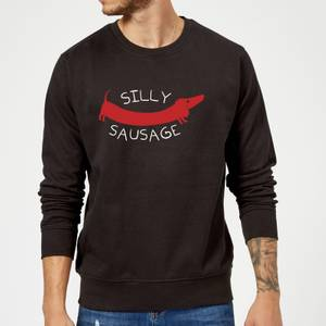 Silly Sausage Sweatshirt - Black