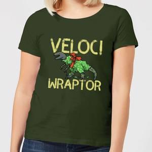 Veloci Wraptor Women's T-Shirt - Forest Green