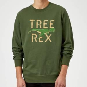 Tree Rex Sweatshirt - Forest Green