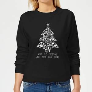 Dead Inside Women's Sweatshirt - Black