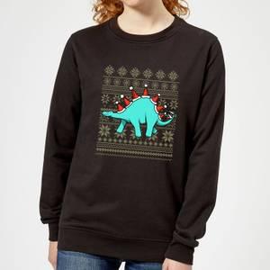 Stegosantahats Women's Sweatshirt - Black