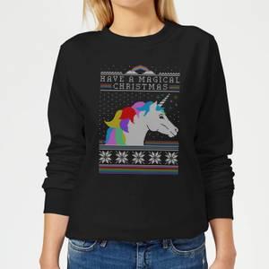 Have a magical Christmas Fair isle Women's Sweatshirt - Black