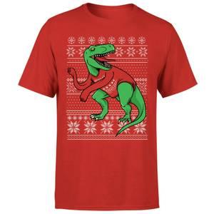 T-Rex Sleeves T-Shirt - Red