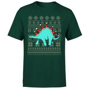 Stegosantahats T-Shirt - Forest Green