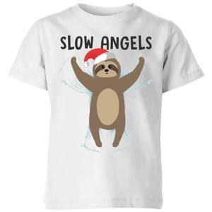 Slow Angels Kids' T-Shirt - White