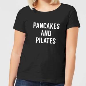 Pancakes and Pilates Women's T-Shirt - Black
