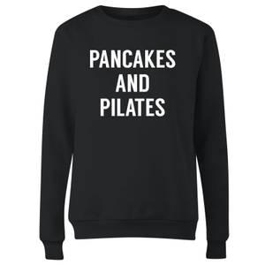 Pancakes and Pilates Women's Sweatshirt - Black