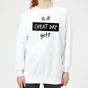 Is it Cheat Day Women's Sweatshirt - White